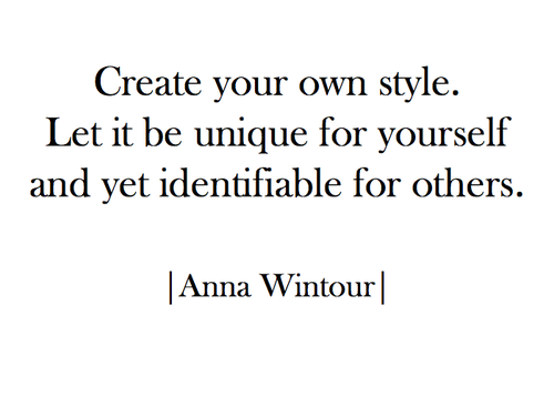 Style quote 1