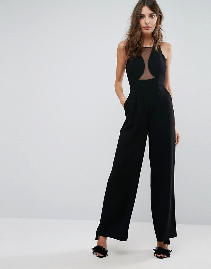 bcbgeneration-sheer-insert-cut-out-jumpsuit
