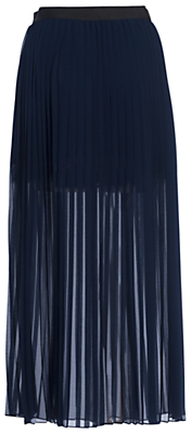 french-connection-coopper-sheer-pleated-maxi-skirt