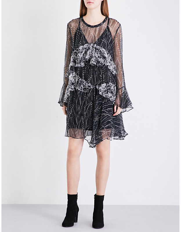 iro-gypsy-ruffled-chiffon-dress